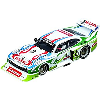 Carrera 30817 Digital 132 Slot Car Racing Vehicle - Ford Capri Zakspeed Turbo Liqui Moly Equipe, No.55- (1:32 Scale)