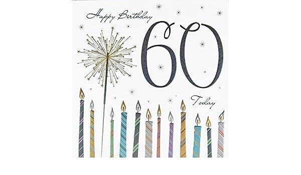 Calidad tarjeta de felicitación 60 cumpleaños Tracks Bengala ...