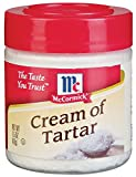 McCormick Cream Of Tartar 1.5OZ (Pack of 12)