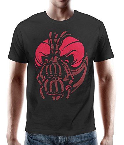 adrotes Herren T-Shirt Banemaske Redview AOS10016