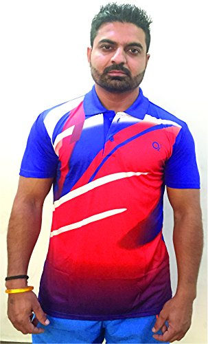 bcdbbf8e Buy O2 Sports Sublimation T-Shirts Multi Color (42/XL) Online at Low ...