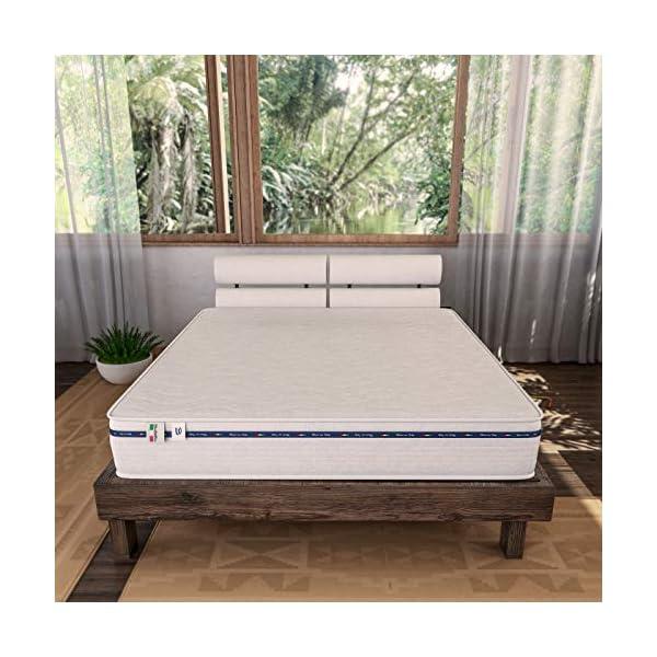Baldiflex Materasso Matrimoniale Amazonia Top in Memory Foam 160x190 cm 2 spesavip