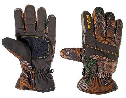 Hot Shot Mens Defender Camo Thinsulate Insulated Hunting Glove (Realtree Xtra, Large)