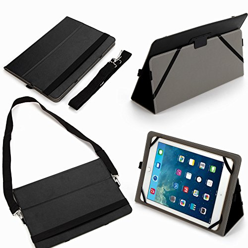 "Universal 10"" Folding Pu Case Cover with Stand (10bl) for..."