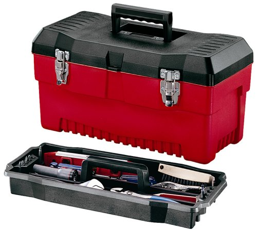 Stack-On PR-19 19-Inch Pro Tool Box, Black/Red