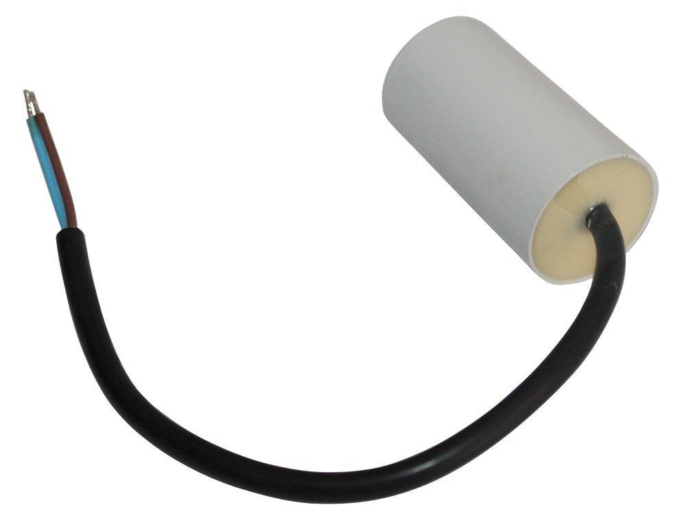Aerzetix Kondensator st/ändigen Arbeitsprogramm f/ür Motor 12/µF 450V