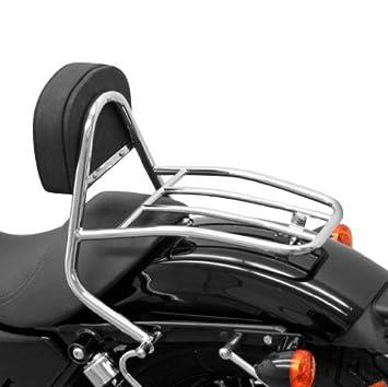 Sissy Bar + parrilla Fehling Harley Davidson Sportster 883 ...