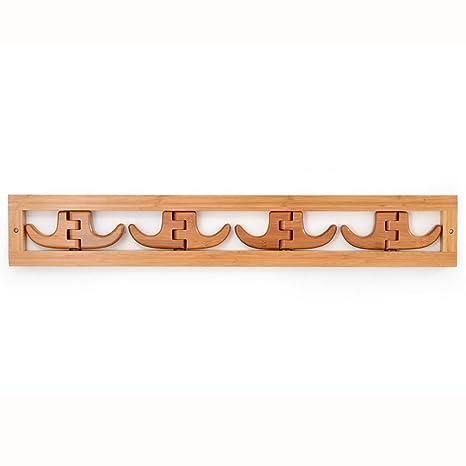 Amazon.com: Perchas de pared para dormitorio con diseño de ...