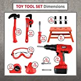 STEAM Life Kids Tool Set with Power Drill