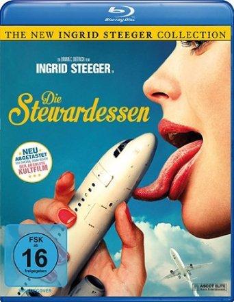 Stewardesses Report (1971) ( Die Stewardessen ) ( Sweet Sensations (The Swinging Stewardesses) ) [ Blu-Ray, Reg.A/B/C Import - Germany ] ()