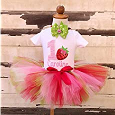 a28ac35e7 Amazon.com: Mermaid 1st Birthday Tutu Outfit- Personalized Baby Girl ...