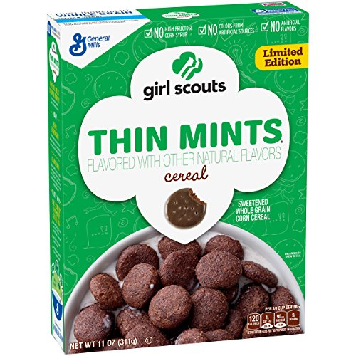 Girl Scouts Cereal Thin Mint Cereal 11oz, Mint