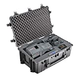 PELICAN 1650-020-110 1650 HARD CASE BLACK W/ FOAM CASE WITH WHEELS 28.57X17.52X10.65