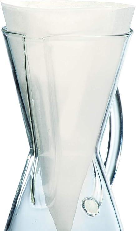 Chemex - Filtro de papel (3 tazas (100 unidades): Amazon.es: Hogar