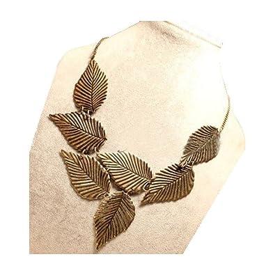Vintage Antik 7 Blatt Anhänger Collier Halskette Kollektion von ...