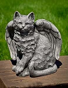 a-490-al ángel Kitty Estatua