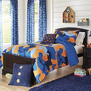 My room geo camo camouflage comforter set - Better homes and gardens comforter sets ...