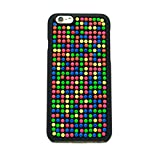 FS 0413 Phone Case, Fashion Skittle Style iPhone 6 (4.7 Inch) Case, Frosting Touch, Colorful Dots, Hard Fun Case (Skittles)