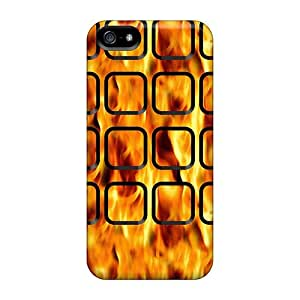 Anti-scratch And Shatterproof Wall Phone Case For Iphone 5/5s/ High Quality Tpu Case