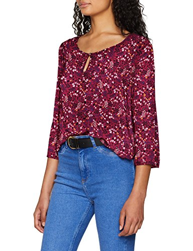 Femme Multicolore Ditsy Aop Red Plum Only cosmic Blouse FxESwnRqf5