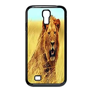 ZLGU(RM) SamSung Galaxy S4 I9500 Case with Lion Customized Case, Personalized phone case