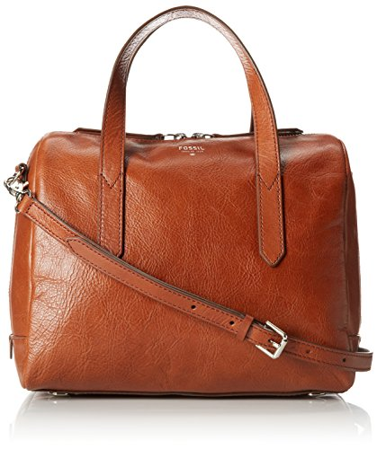 Fossil Sydney Satchel, Brown, One Size by Fossil