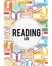 """Reading Log: Book Reading Planner (Portable Size 6""""x9"""") - 108 Pages With Index, Wishlist, Book Review - Gifts For Book Lovers: Reading Journal"""
