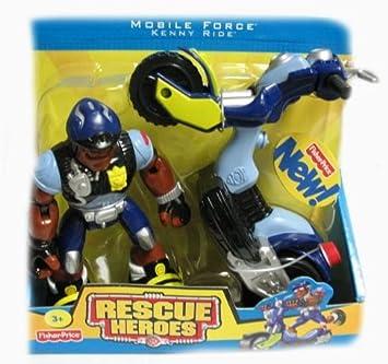 Amazon.com: Rescue Heroes móvil Force – Ride, Kenny Y ...