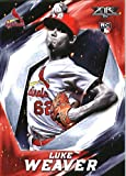2017 Topps Fire #154 Luke Weaver St. Louis Cardinals Rookie Baseball Card