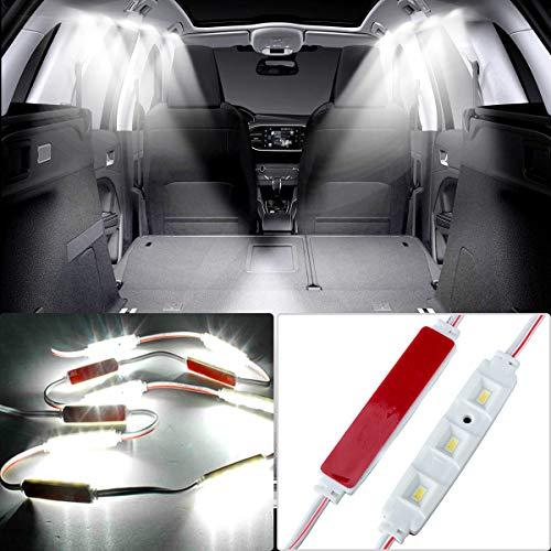 AUDEW 30 Led White Interior Lights Kit For LWB Van Lorries Sprinter Ducato Transit -