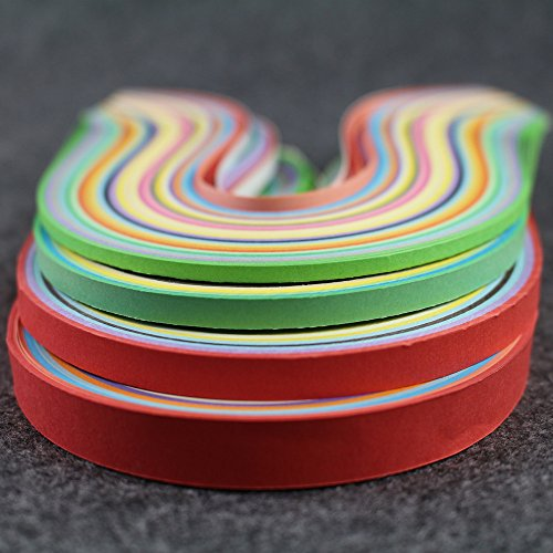 Imisno paper quilling strips set 1040 strips 26 colors 3 for Quilling kitchen set