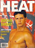 Beefcake Banquet l Joey Stefano: Undercover l Readers In Heat l Adult Gay Male Interest - February, 1992 Heat Magazine