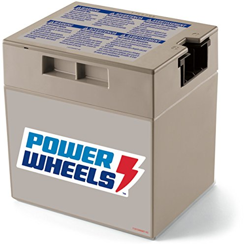Power Wheels 12-Volt Rechargeable Replacement Battery (Barbie Power Wheels Jeep Battery)