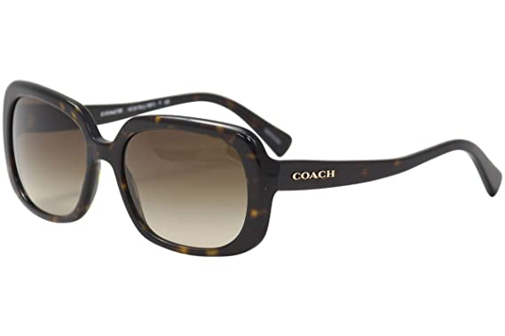73b5d6719b09 Amazon.com: COACH Women's 0HC8178 Dark Tortoise Sunglasses: Clothing