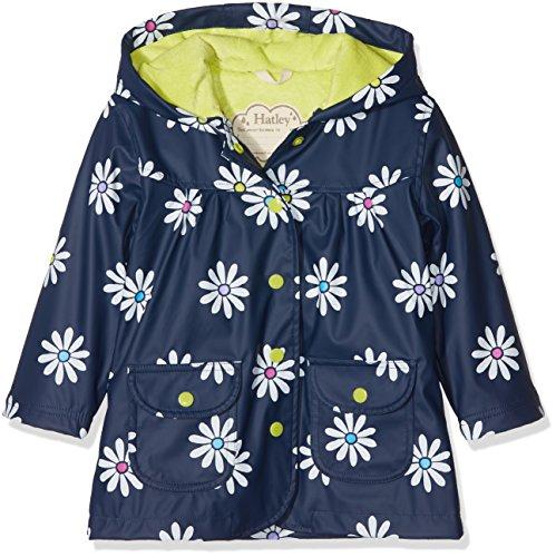 Hatley Kids Baby Girl's Sunny Daisy Classic Raincoat (Toddler/Little Kids/Big Kids) Blue 6