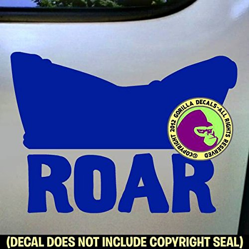 The Gorilla Farm ROAR Pussy Hat Resist Protest Vinyl Decal Sticker Bumper Laptop Window Car Wall -