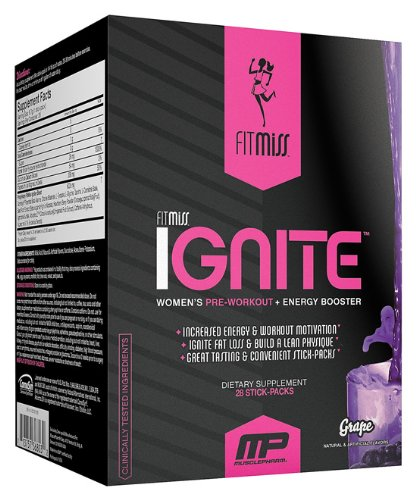 FitMiss - Fit Miss Ignite raisin, 28 sachets