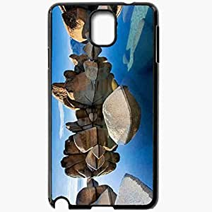 Unique Design Fashion Protective Back Cover For Samsung Galaxy Note 3 Case Beautiful Rocks Pictures Nature Black