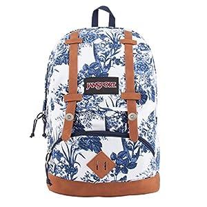 JanSport Unisex Baughman White Artist Rose Backpack