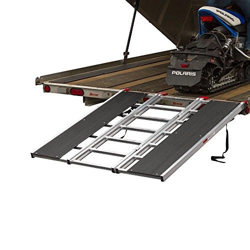 Black Ice SNO-6054-HDXW Snowmobile Loading Ramp (Trailer Snowmobile Ramp)