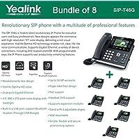 Yealink SIP-T46G - Bundle of 8 SIP-T46G IP Phone (PoE)