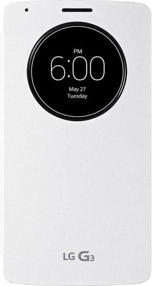 Lg Quick Circle Wireless Charging Folio Case For Lg G3 Amazon Co Uk Electronics
