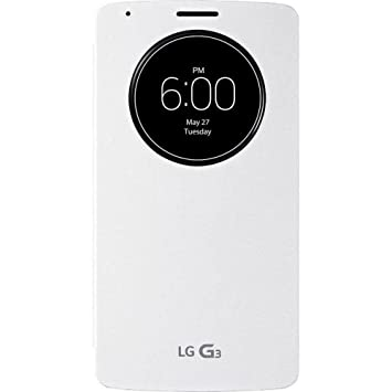 LG G030G30W1 - Funda G3 Quick Circle, blanco