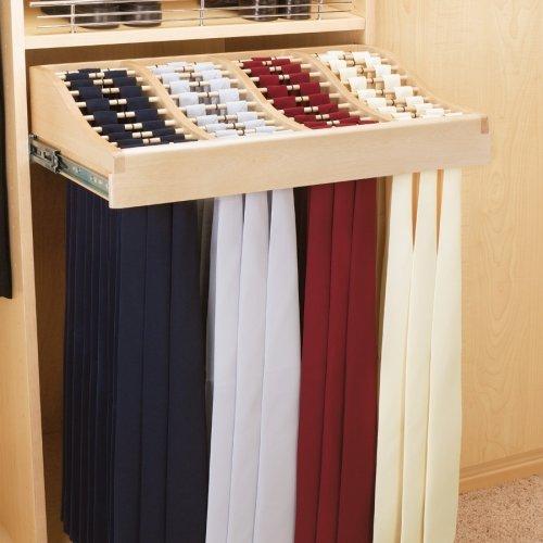 CWTR-241041-2 24'' Tie Rack-Wood by Rev-A-Shelf