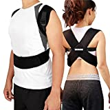 Atlas Health Ultimate Posture Corrector & Resistance Band Set For Men & Women - Align Your Spine & Relieve Back Pain - Soft, Lightweight, Breathable Neoprene for Comfort - Discreet Adjustable Design