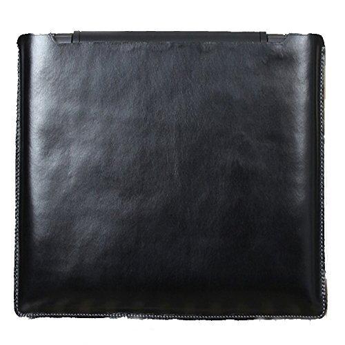 Cieur Macbook 15 inch Laptop Vegetable Pouch Ultrabook Leather Sleeve (Carugetto Wheeled Laptop Case)