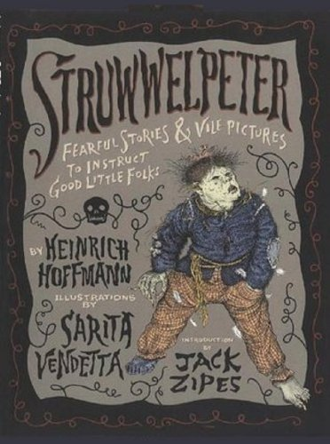 Struwwelpeter: Merry Stories and Funny Pictures (Illustrated, with audiobook link)