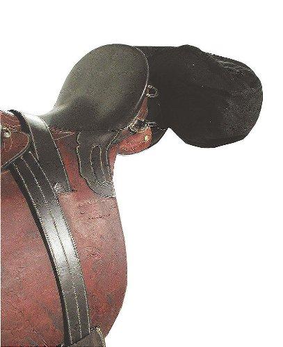 Bananenpacktasche Manteltasche - Satteltasche in Bananenform für Pferde | Bananen Tasche mit Reißverschluss für englisch oder Western Reiten | AKTION