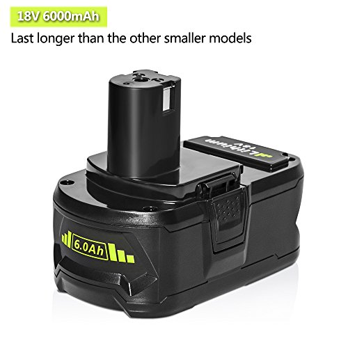 2packs-18v-60ah-replacement-battery-for-ryobi-lithium-ion-one-plus-p102-p103-p104-p105-p107-p108-p109-p122-cordless-power-tools