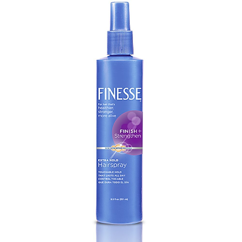 Finesse Extra Hold Non-Aerosol Hairspray, 8.5 Ounce (Pack of 4)